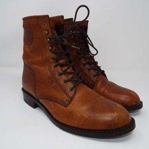 Ariat Lace Up Leather Work Boots